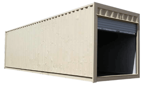 30' Storage container with roll up door for sale