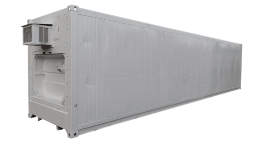 40' Insulated storage container for sale