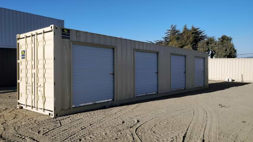 40ft storage containers with roll-up doors for sale
