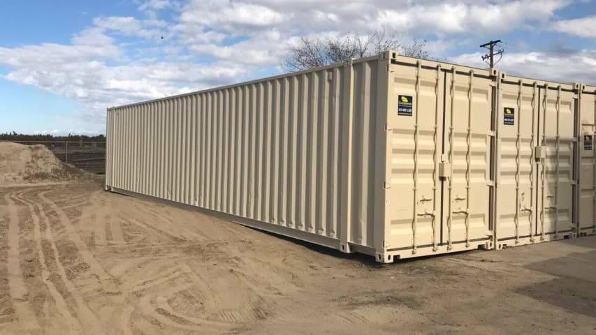 45ft high cube storage container for rent