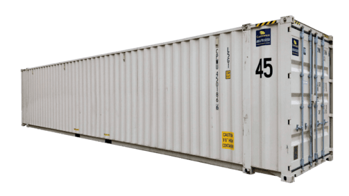 45' High cube shipping container for sale