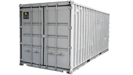 Refurbished 20' shipping container for sale