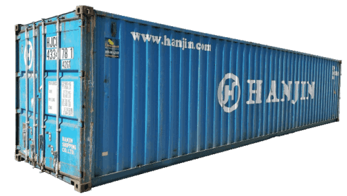 40' Certified used shipping container for sale