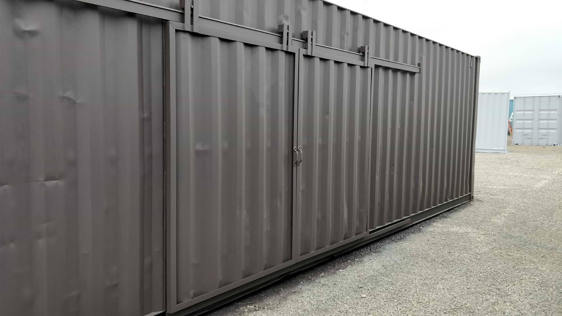 Barn doors for storage containers for sale