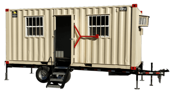 20' Trailer office container