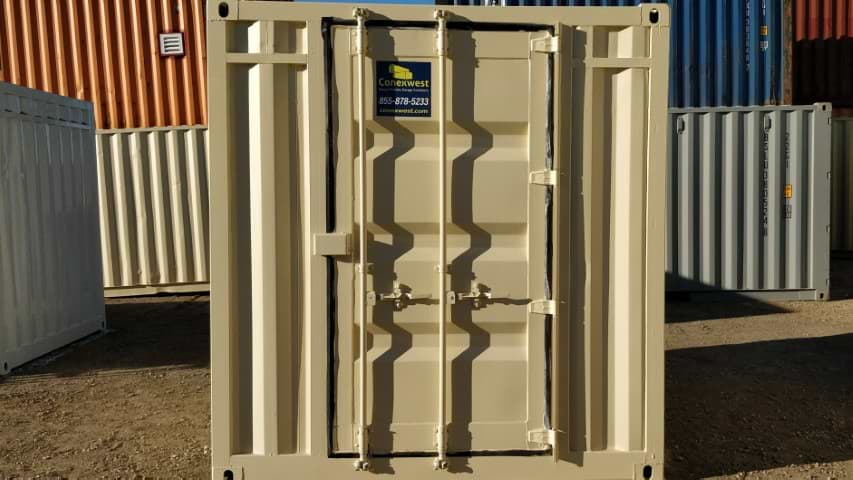 Single cargo door for shipping container for sale