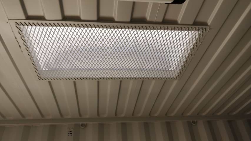 Steel security mesh for storage containers for sale
