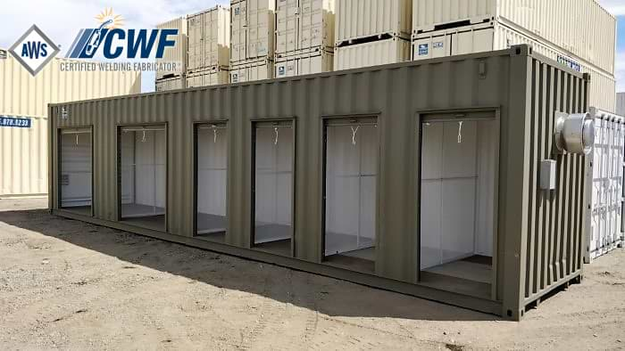 Full service shipping container fabrications