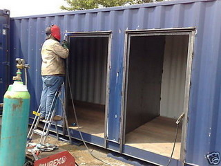 Conexwest Container Modifications