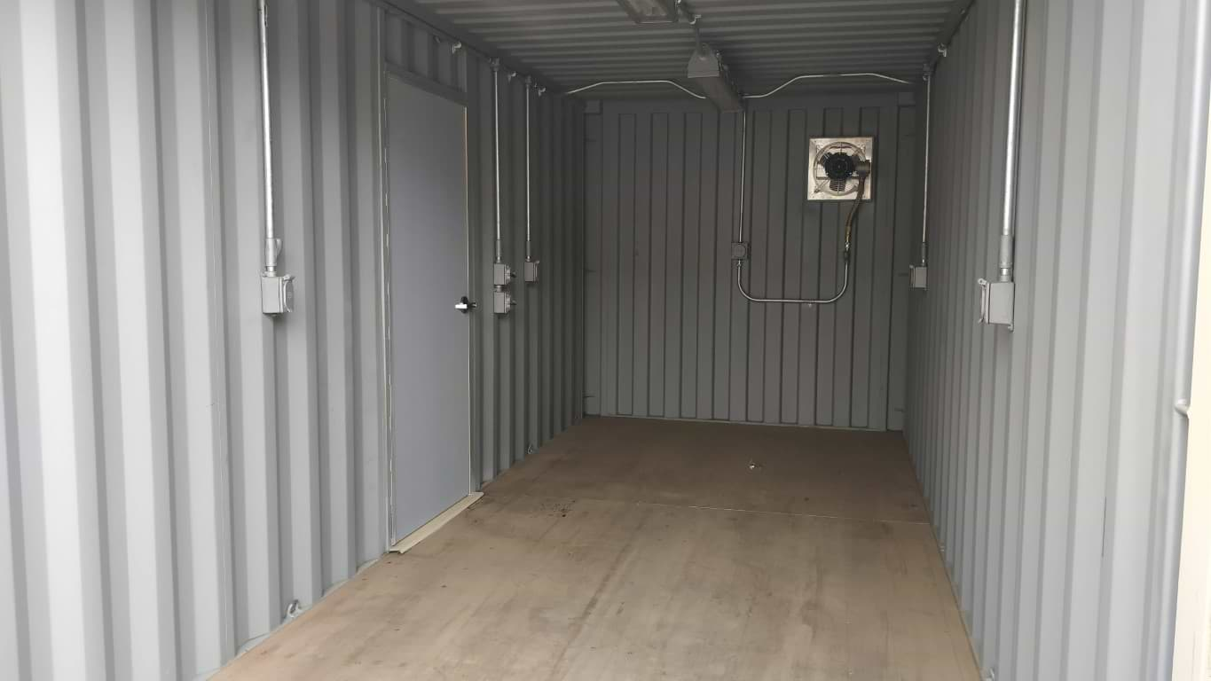 Class 1 division 2 electrical package for storage containers for sale