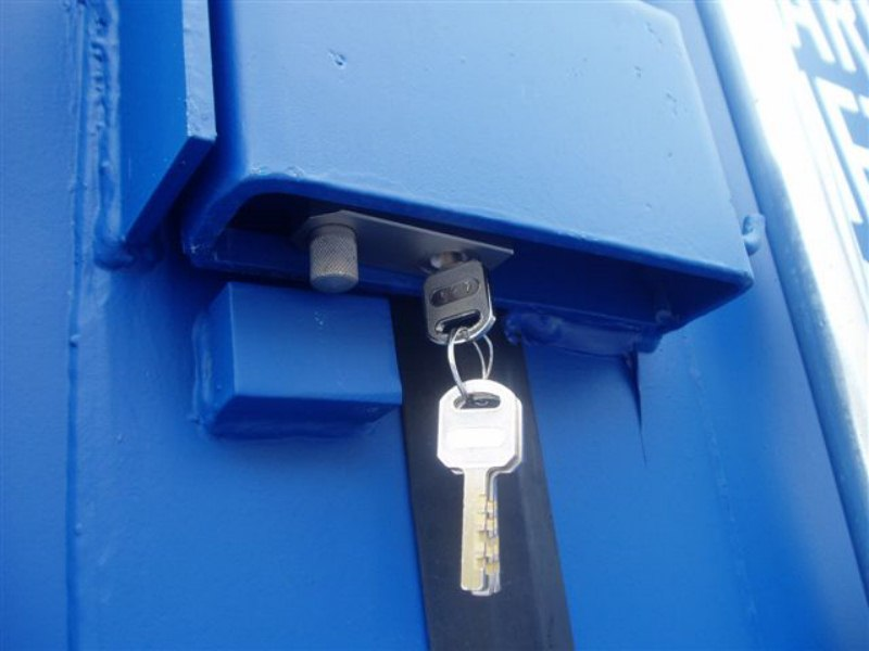 Conexwest's Best Lock for Shipping Container Security