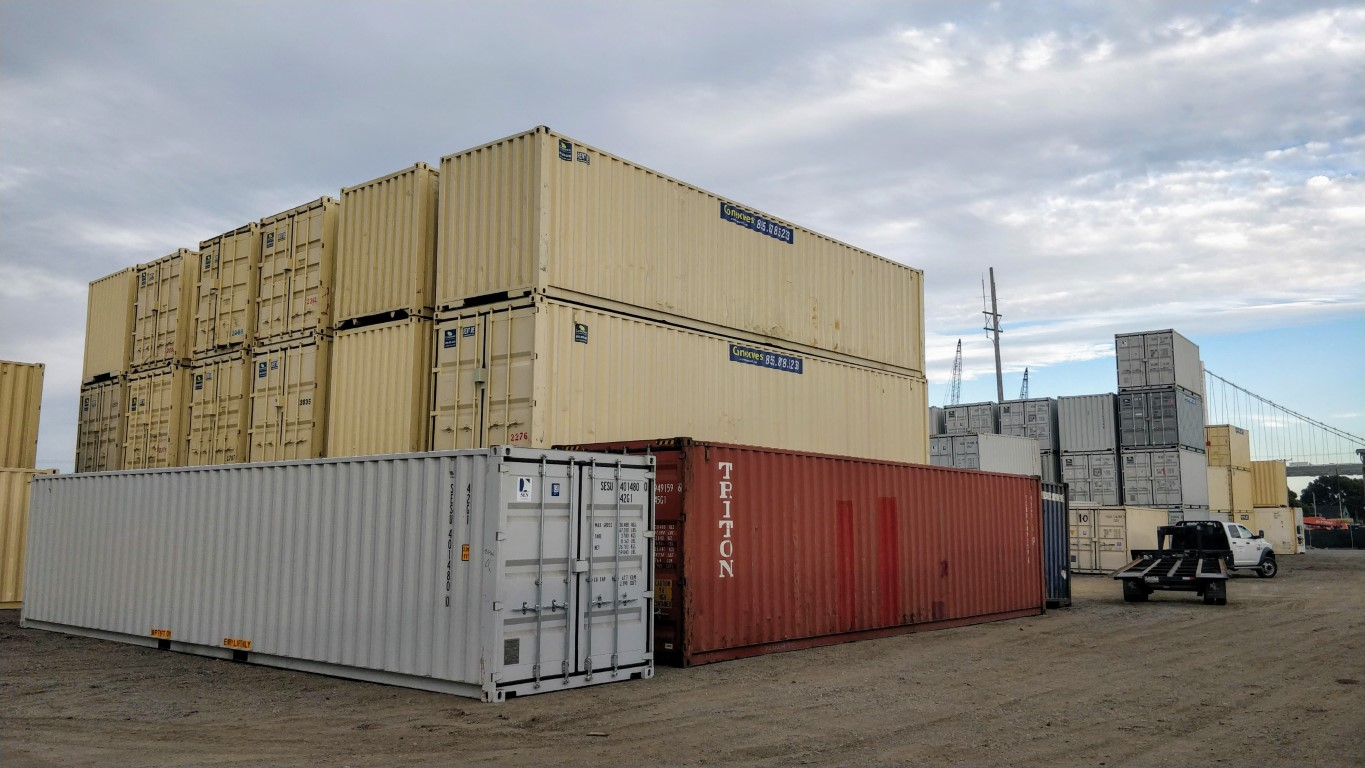 Buy shipping containers in San Francisco California