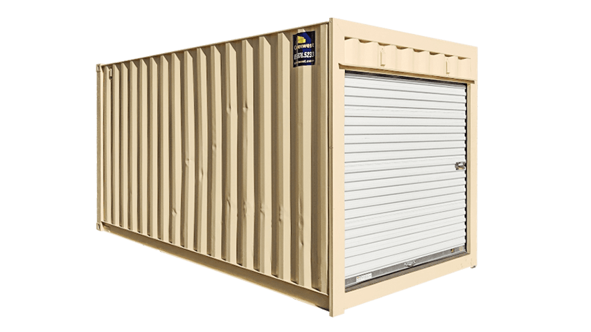 16ft storage containers with roll up door for sale