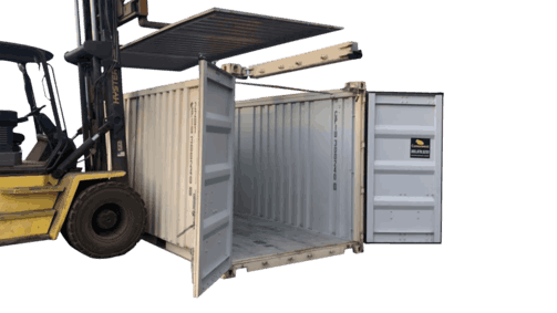 open top hard top shipping container