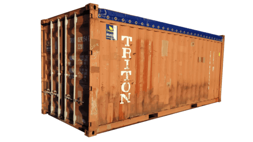 open top soft top shipping container