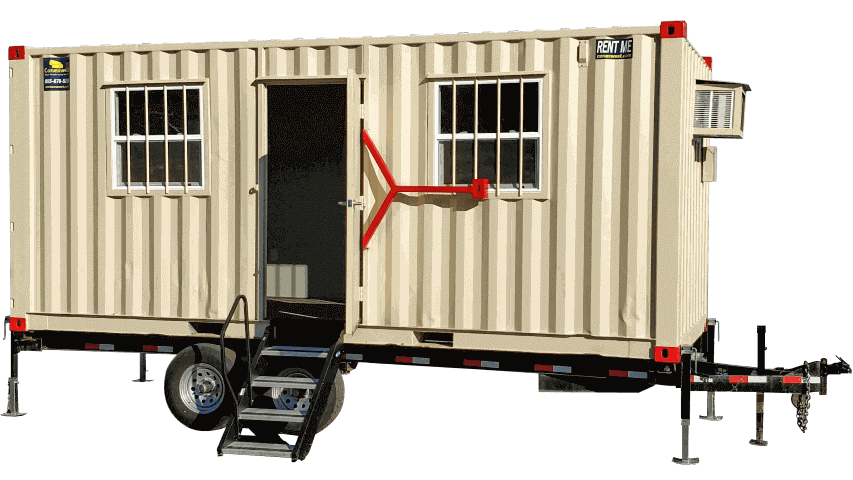 20ft trailer office container