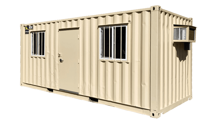 20ft job-site mobile office container for rent