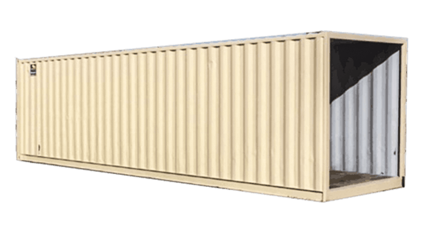 30ft walkway steel container for rent