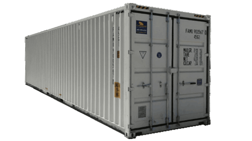 40ft high cube shipping container with doors on both ends for sale