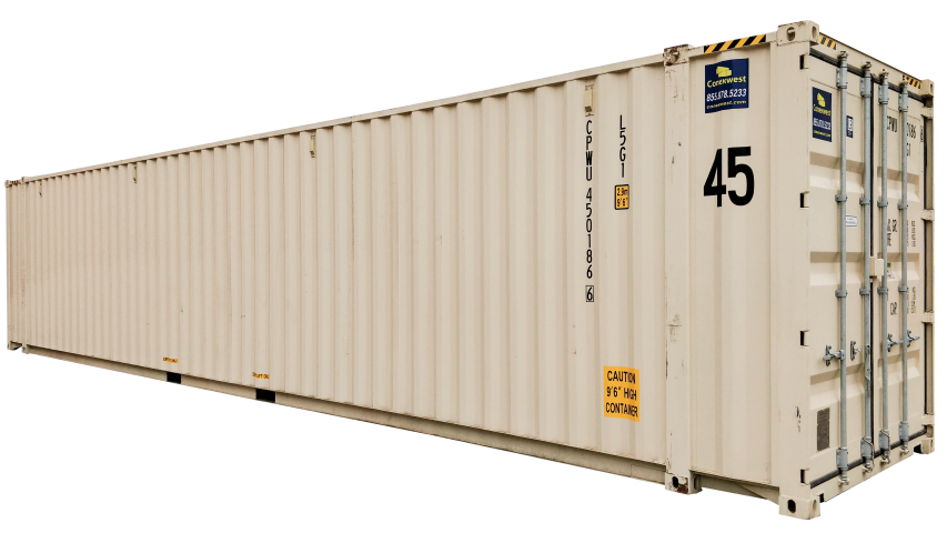 45ft high cube shipping container for sale