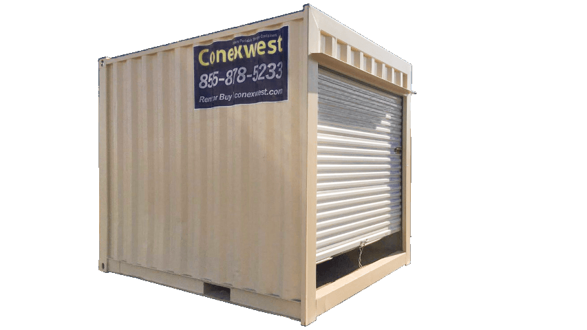 10ft storage container with roll-up door for sale