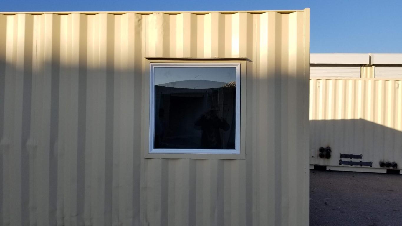Double pane picture window