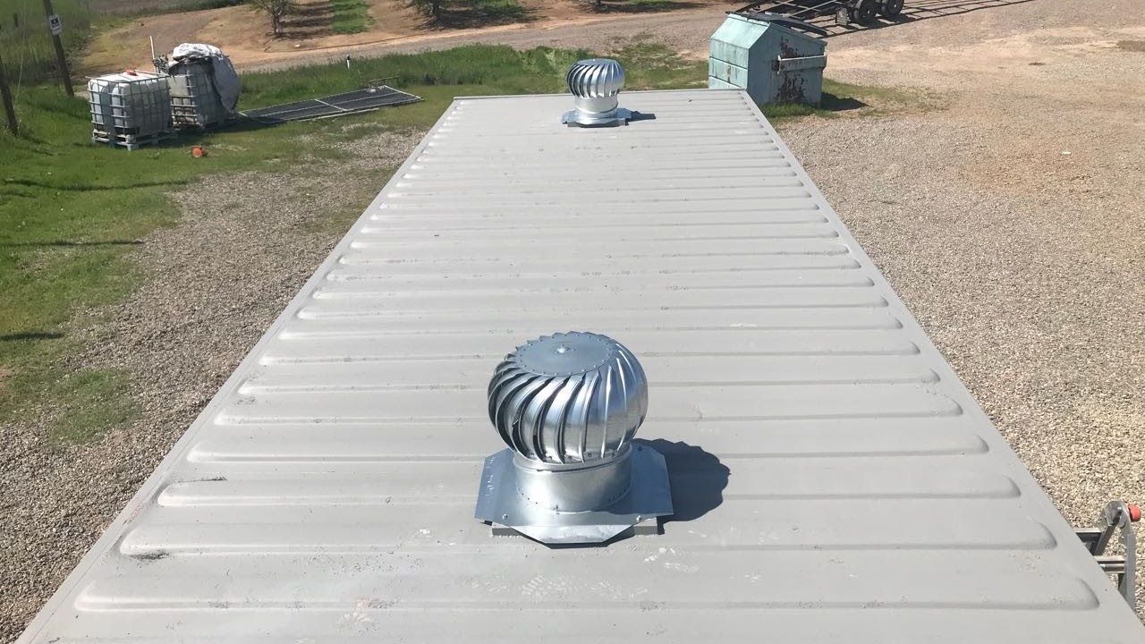 Turbine vent for shipping containers for sale