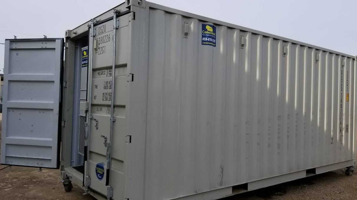 20ft  Mining shipping containers for sale interior