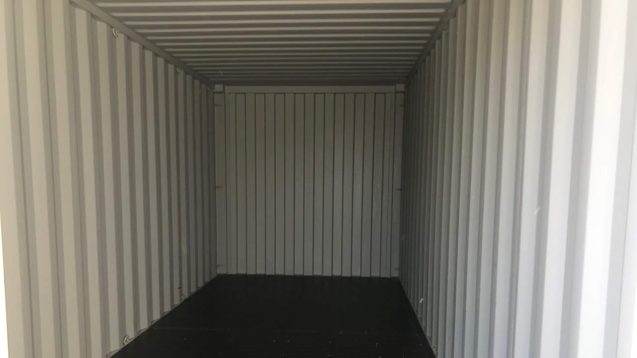 New 40ft shipping container for sale interior