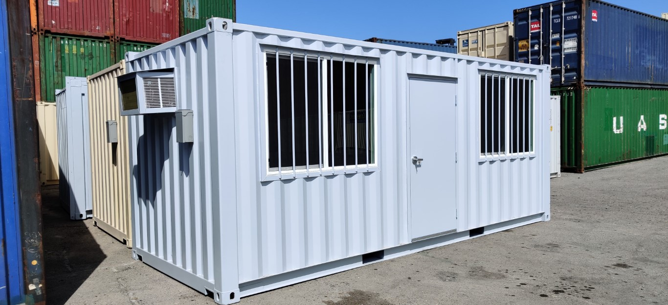 Custom green exterior paint for shipping containers for sale