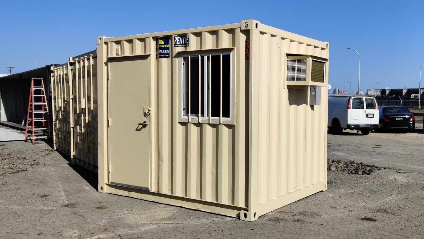 10ft mobile office container for rent