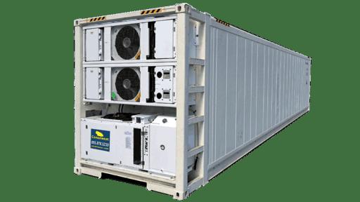 40ft dual redundant deep freezer container for sale