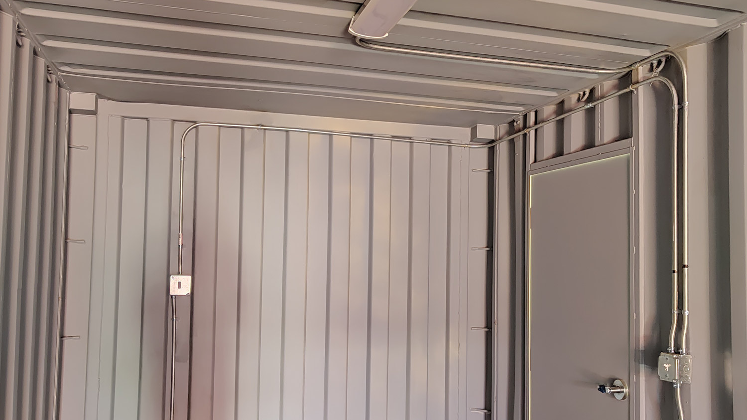 Electrical packages for shipping containers for sale