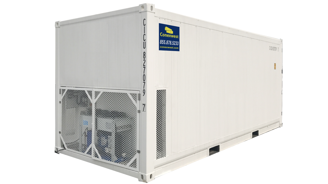 20ft refrigerated container cold box 220v single phase