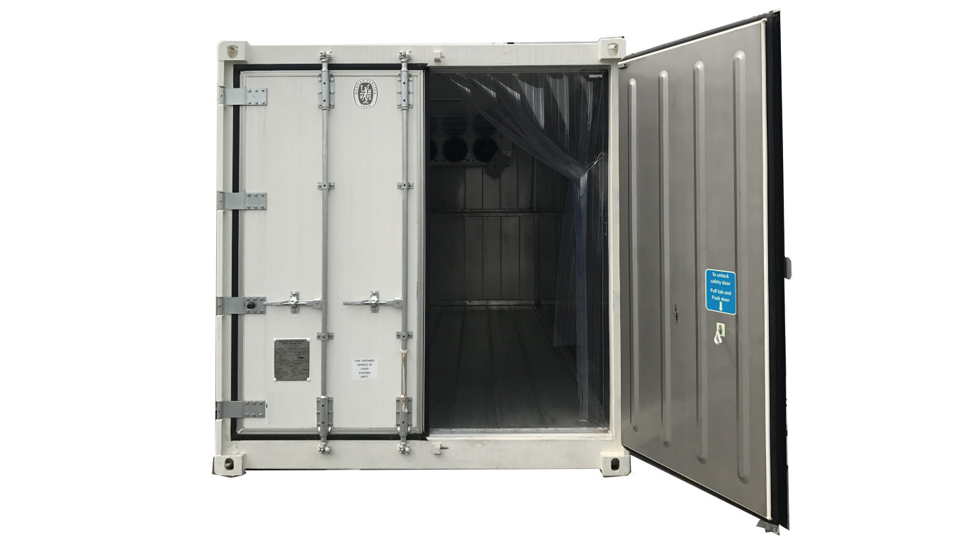 20ft single phase cold storage container