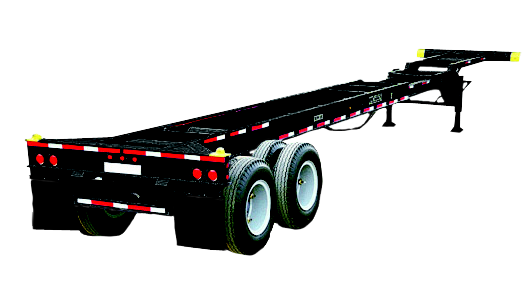 40ft 45ft Extendable chassis