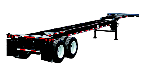40ft intermodal container chassis