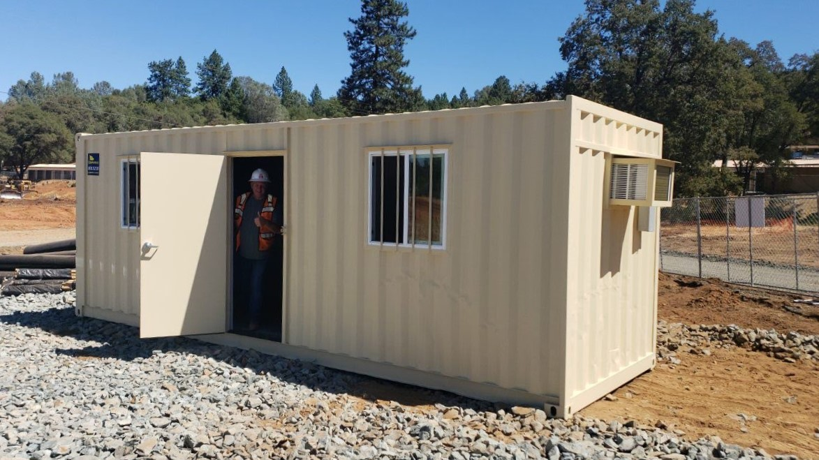 Rent 20ft mobile office containers near me | Conexwest