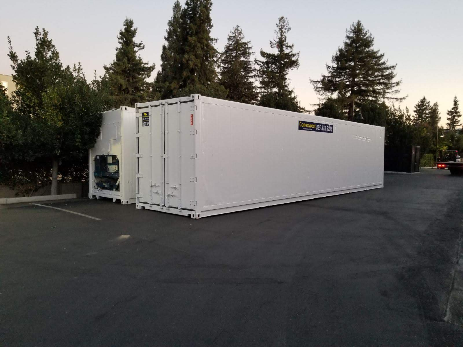 Cold storage reefer container Conexwest
