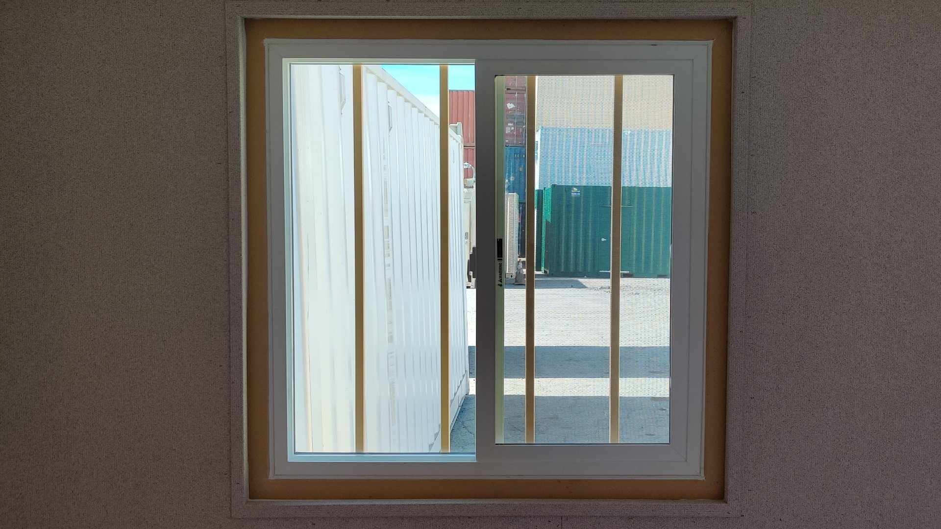 3ftx3ft double pane sliding window for shipping container for sale