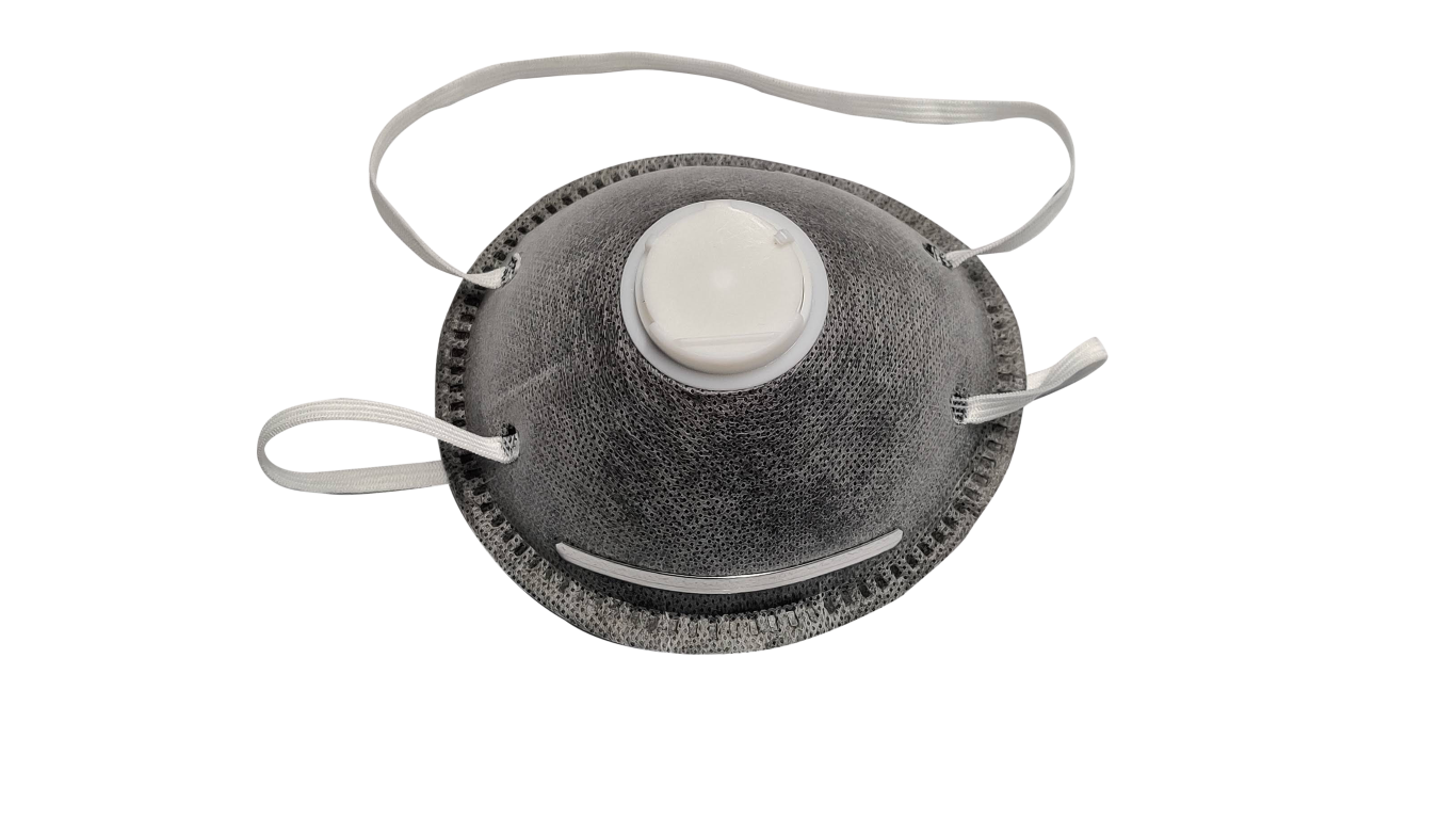 Dust mask respirator three layer active carbon