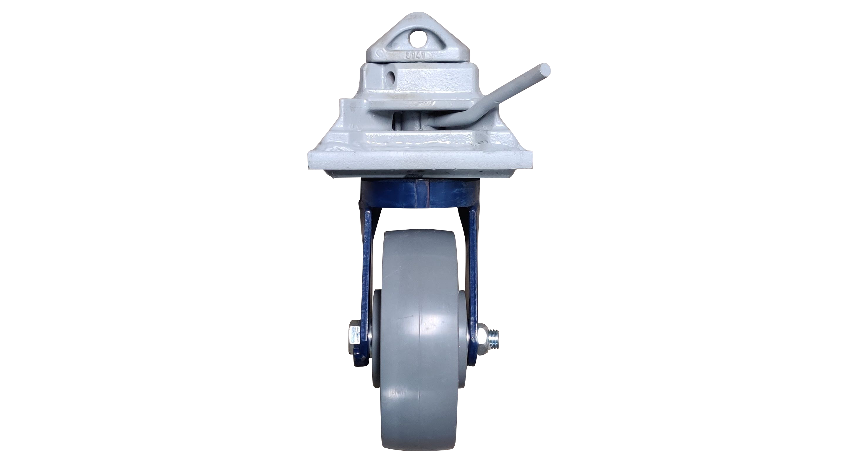 Shipping container caster wheel