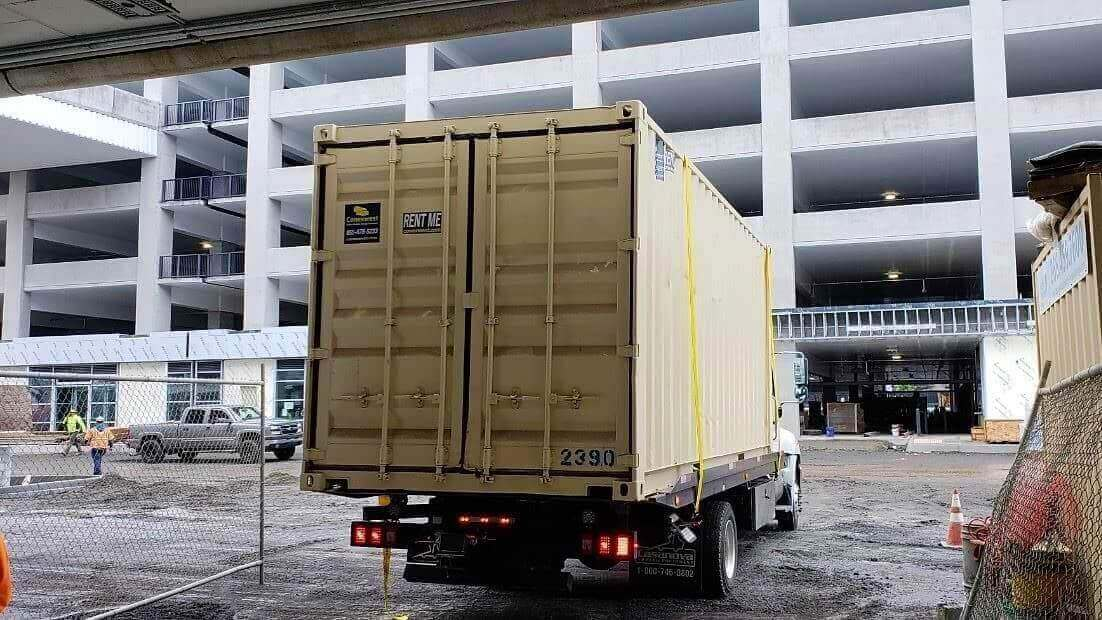 Storage container rental