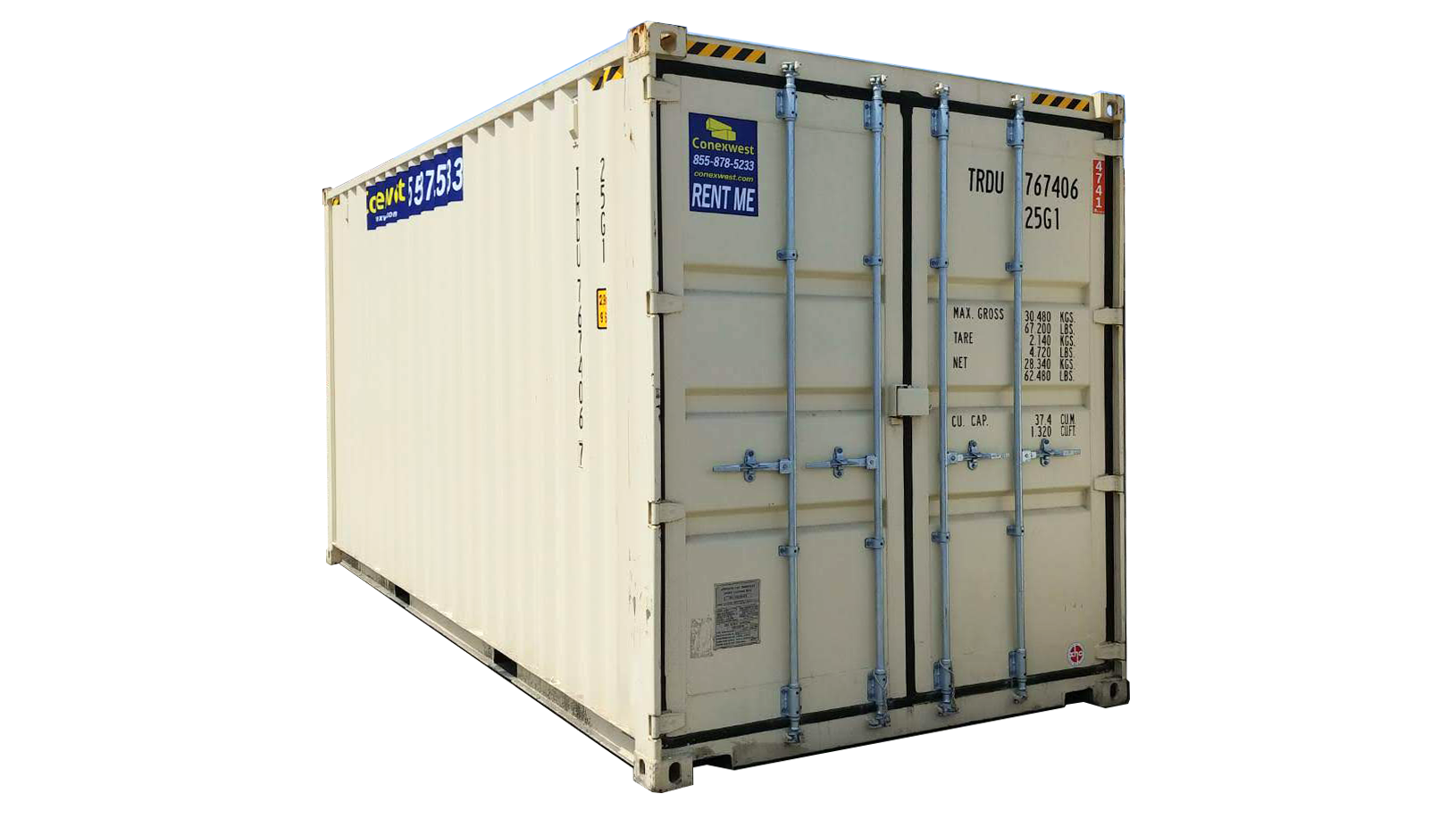 20ft high cube storage container for rent