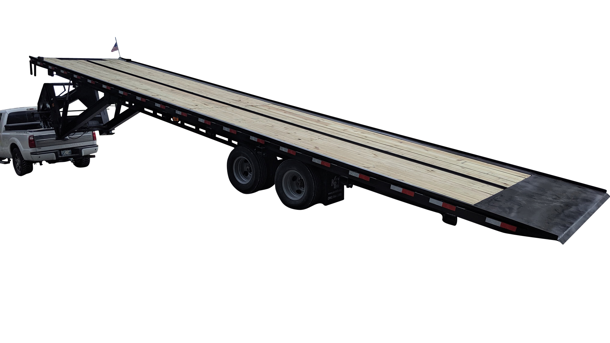 40ft tilt bed trailers