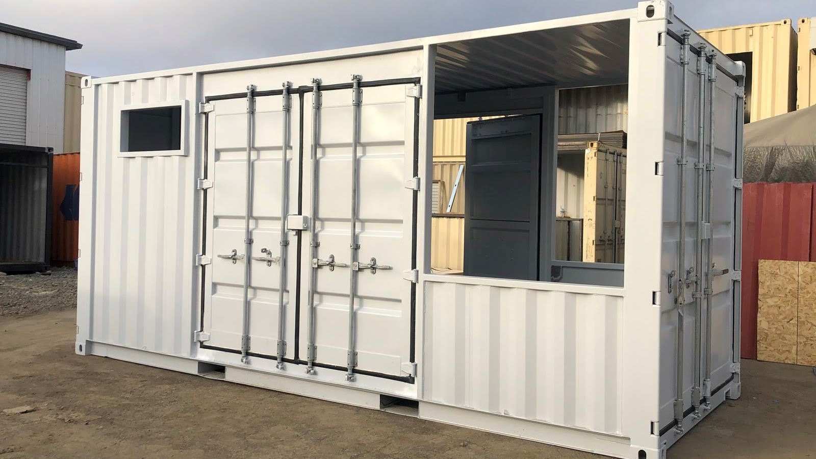 20ft container machinery enclosure