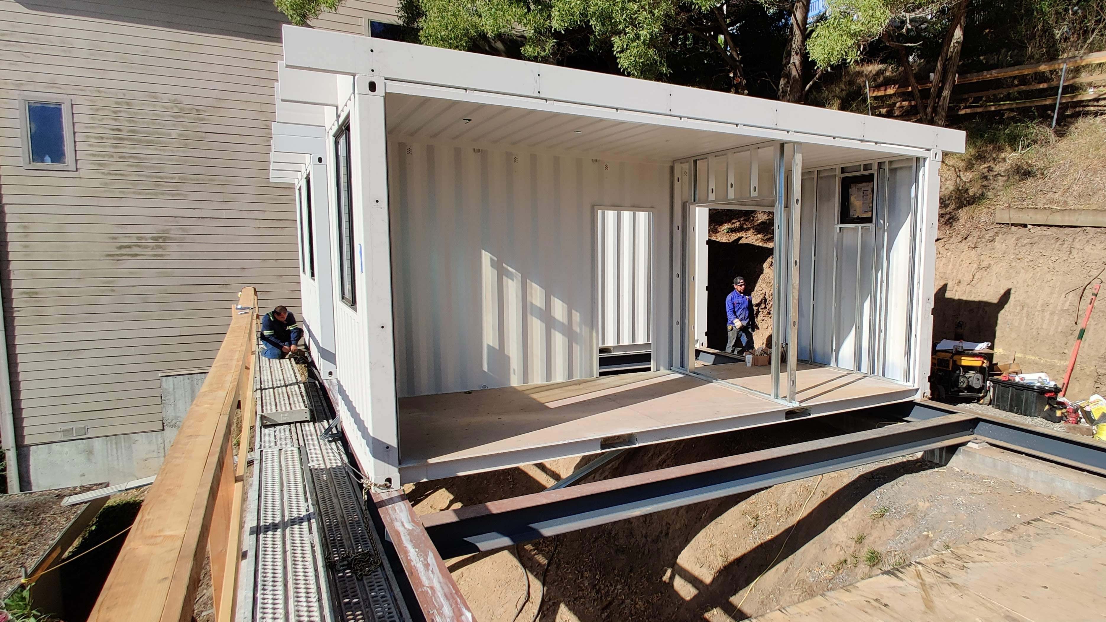 container house project in San Francisco