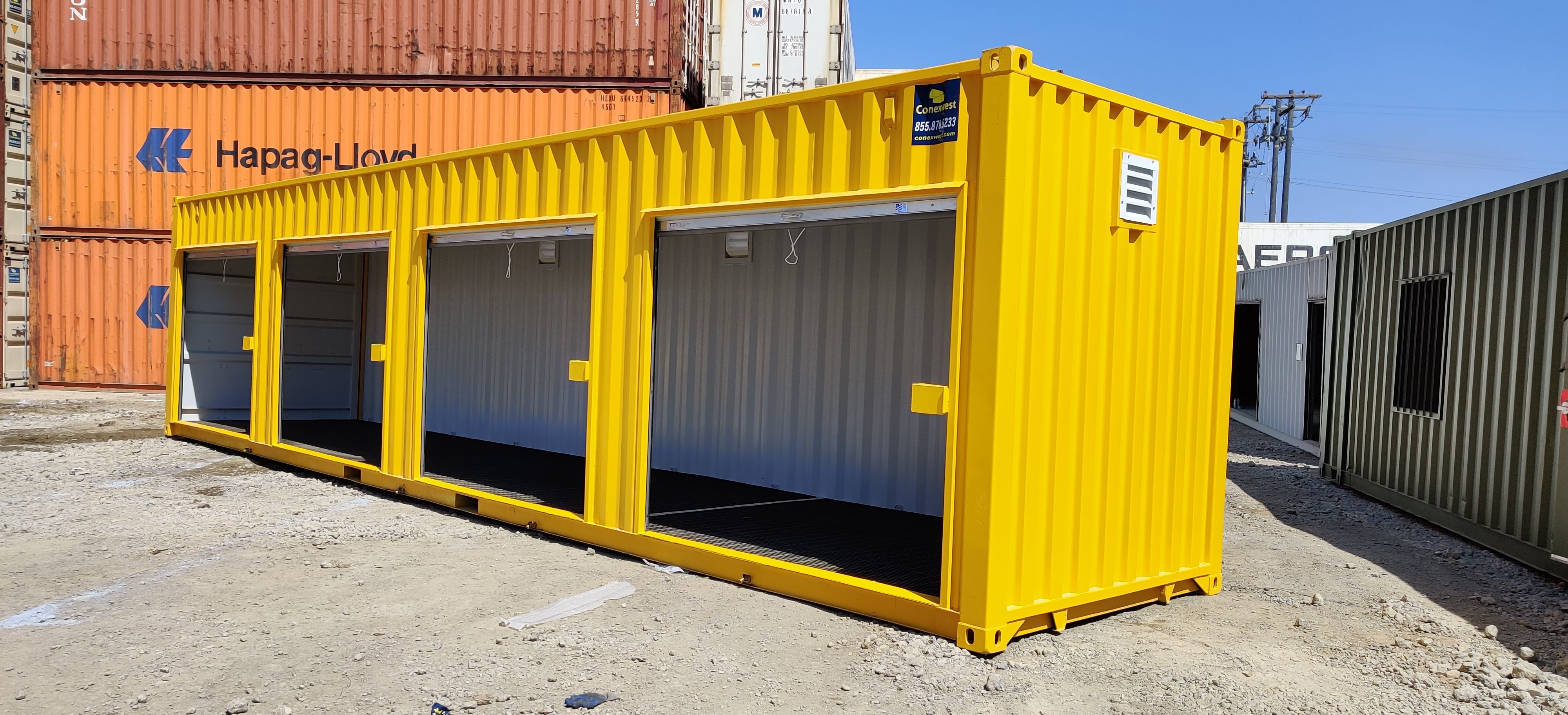40ft hazmat storage container