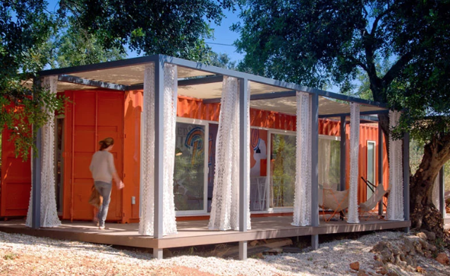 guest room shipping container
