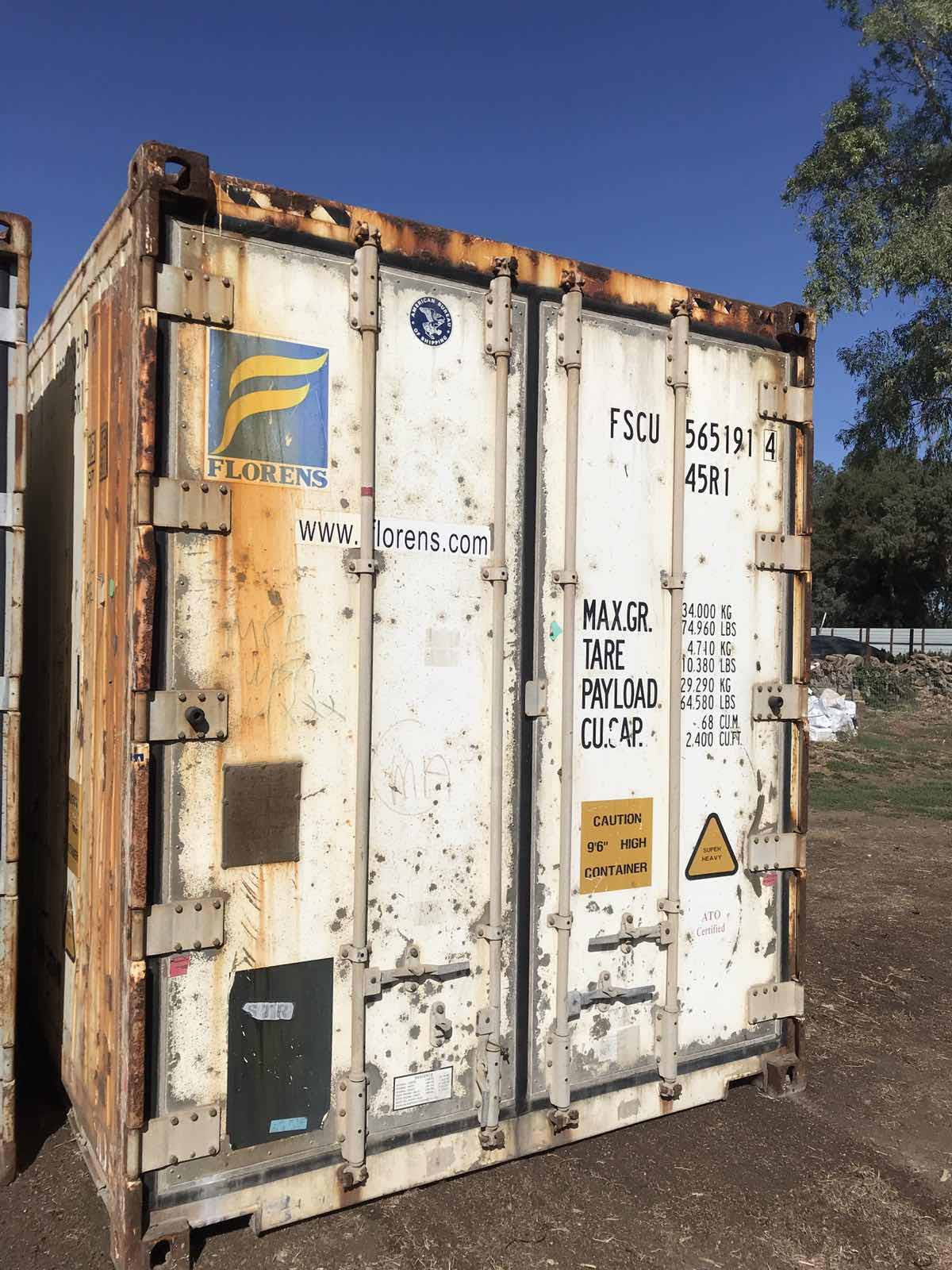 Wind water tight (WWT) shipping container